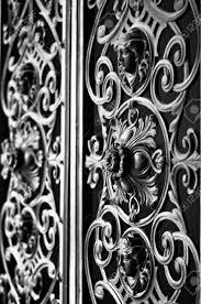 decorative metal gate ornament antique iron door with classic