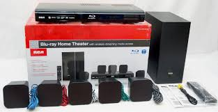 wireless home theater systems new rca rtb10323lw 200w blu ray dvd wifi home theater system