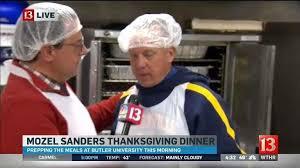mozel sanders dinner to feed 40 000 on thanksgiving