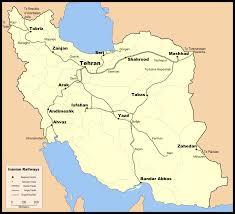 World Map Iran by List Of Railway Stations In Iran Wikipedia
