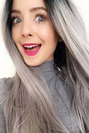looking with grey hair grey hair color is the hottest trend of 2018 best hair color