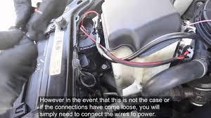 angel eye wiring harness installation youtube