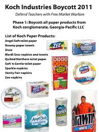 Vanity Fair Paper Products Koch Industries