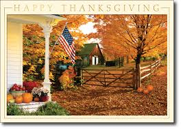 patriotic fall thanksgiving cards