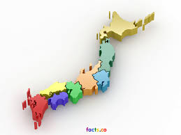 Blank Map Paper by 3d Map Japan Stock Illustration 195622697 Shutterstock Japan Map