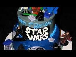 star wars birthday cake youtube
