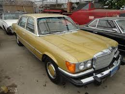 gold color cars classic 1976 mercedes benz 450 sel sedan saloon for sale 1528