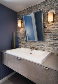 Best Mid Century Modern Bathrooms Images On Pinterest Modern - Amazing mid century bathroom vanity house