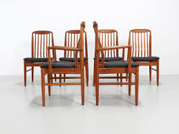 thai teak dining chairs by benny linden 1970s set of 6 for sale