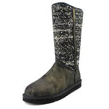 womens boots ebay australia 75 ugg australia camaya size 6 m black bronze slouch womens boots