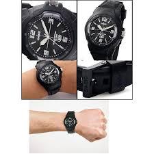 Jam Tangan Casio Karet casio analog jam tangan pria hitam karet mw 59 1e daftar