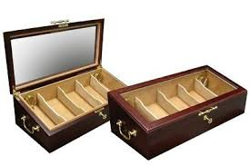 cigar humidor display cabinet the modena cigar humidor 125 count cherry countertop glass top