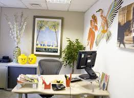 how to decorate your office at work at tnt towers we got bored with our cluttered office papers and