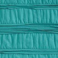 Teal Coverlet Bar Iii Solid Teal Ruffled Coverlet Collection Quilts
