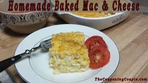 homemade baked macaroni u0026 cheese recipe