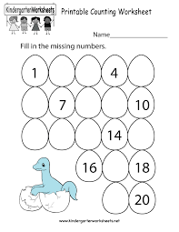 free printable worksheet for kindergarten worksheets