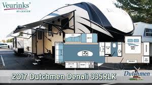 for sale 2017 dutchmen denali fifth wheel 335rlk review grand