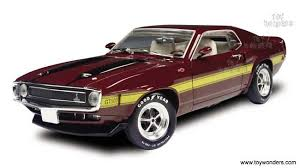 1970 shelby mustang 1970 shelby mustang gt 500 top by ertl elite 1 18 scale