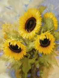 imagenes flores relajantes pintura pinturas pinterest girasoles pinturas y flores