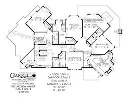 lakeview manor house plan 07214 2nd floor plan rustic mountain