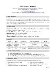 Software Testing Resume For Experienced Qa Resume Objective Assurance Resume Example 15 Qa Resume