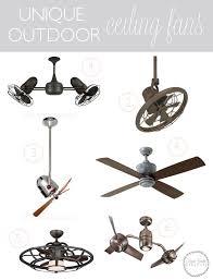 Unusual Ceiling Fans by Best 25 Outdoor Ceiling Fans Ideas On Pinterest Outdoor Fans
