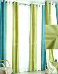 Yellow And Blue Curtains Green And Blue Curtains Ezpass Club