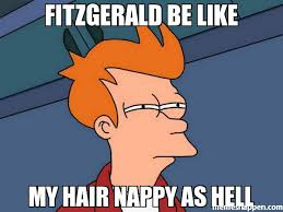 Nappy Hair Meme - fitzgerald be like my hair nappy as hell meme