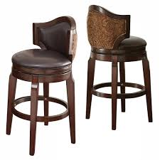 Upholstered Bar Stools With Backs Best Bar Stool Back Newbury Swivel Curved Back Counter Stool From