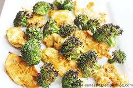 clean eating dinner u2013 peanut sauce chicken and broccoli broil