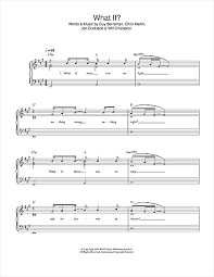 coldplay what if what if sheet music by coldplay easy piano 32724