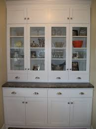 kitchen hutch cabinets antique glass vintage door ideas old
