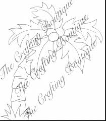 fabulous palm tree coloring pages with palm tree coloring page