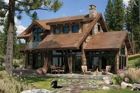 House Log Floor Plan Rustic American Design House Plans