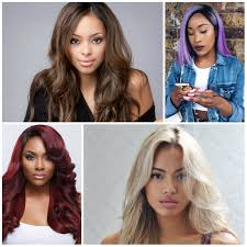 2017 hair colors for black women u2013 haircuts and hairstyles for