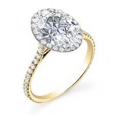 yellow gold oval engagement rings gold oval cut engagement rings