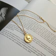 coin necklace gold images Helvetica gold coin necklace hello parry jpg