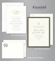 Wedding Invitations Etiquette Introduction To Monogrammed Wedding Invitations