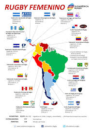 Map Americas by South American Women U0027s Rugby Map Americas Rugby News