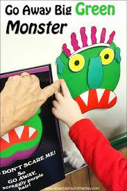 children halloween books speech sprouts go away big green monster best ever books for