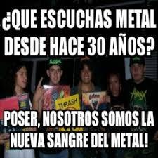 Poser Meme - metal poser