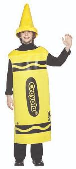 crayon costume yellow crayola crayon costume in stock about costume shop