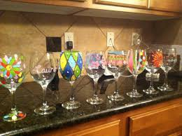 wine glass painting wine glass painting paint party