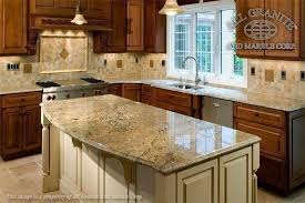 what color countertops go with wood cabinets granite countertops with mixed wood cabinets kitchen
