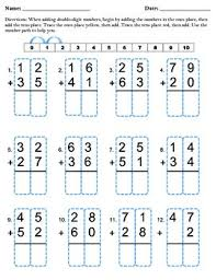 double digit addition without regrouping by missbee0331 tpt