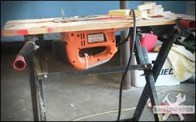 use circular saw as table saw my home made table saw mig welding forum