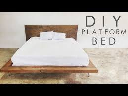 Making A Platform Bed From Pallets by Best 25 Diy Platform Bed Frame Ideas On Pinterest Diy Platform