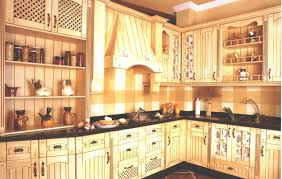 Yellow Cabinets Kitchen Splendid Spanish Kitchen Decor With Classic Yellow Cabinets And