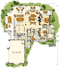 deer park 1067 3 bedrooms and 3 baths the house designers main level floor plan