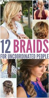 12 braids for uncoordinated people